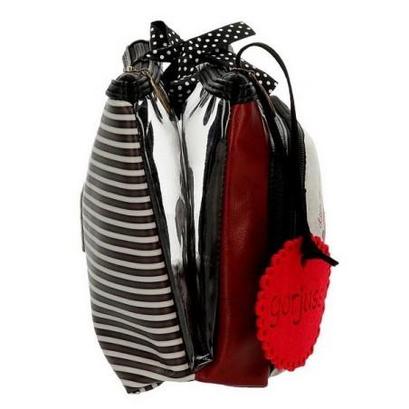 Estuche neceser triple grande Gorjuss Little Red Riding Hood