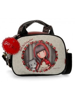 Neceser con bandolera Gorjuss Little Red Riding Hood