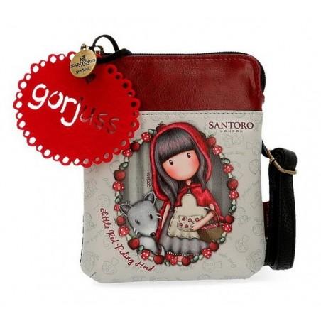 Bolso plano Gorjuss Little Red Riding Hood