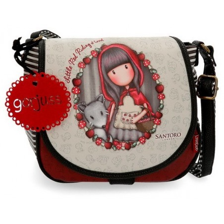 Bolso con solapa Gorjuss Little Red Riding Hood