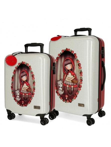 Juego de maletas Gorjuss Little Red Riding Hood