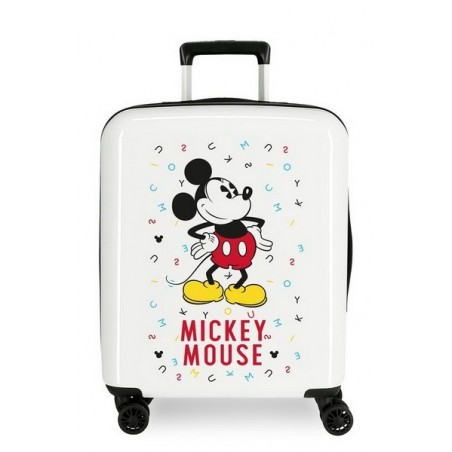 Maleta cabina Disney Mickey Style Letters