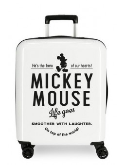 Maleta cabina Disney Mickey Style Life Goes