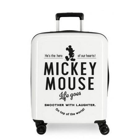 Maleta cabina Mickey Style Life Goes