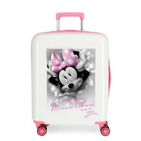 Maleta cabina Disney Minnie Style With Love