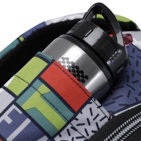Mochila con ruedas + MP3 Totto Carbondillo 8L9
