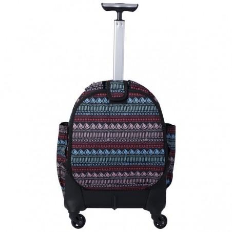 Mochila con ruedas + MP3 Totto Carbondillo 8E5