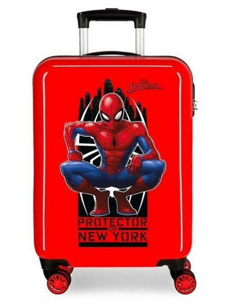 Maleta cabina Spiderman Geo roja