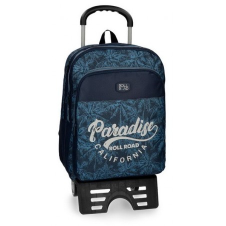 Mochila doble con carro Roll Road Palm