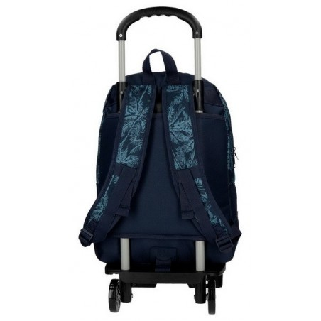 Mochila doble reforzada con carro Roll Road Palm