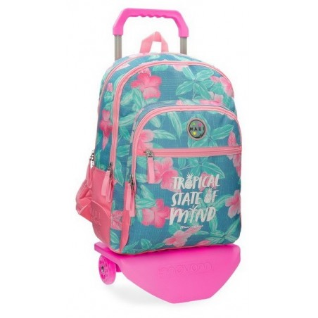 Mochila doble con carro Maui and Sons Tropical State