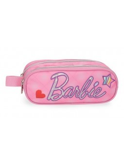 Estuche neceser doble Barbie Fashion