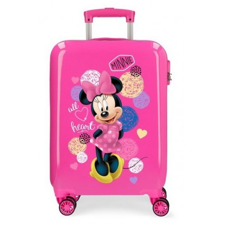 Maleta cabina Disney Love Minnie All Heart
