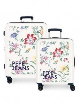 Juego de maletas Pepe Jeans Leven Flowers