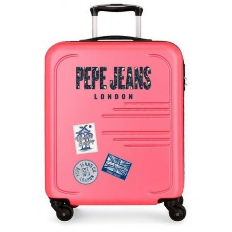 Maleta cabina Pepe Jeans Edison rosa