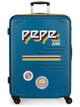 Maleta grande Pepe Jeans Edison azul
