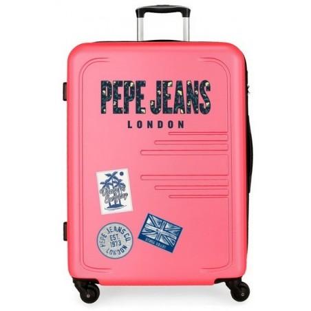 Maleta grande Pepe Jeans Edison rosa