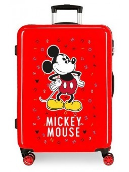 Maleta mediana Disney Have a good day Mickey letter