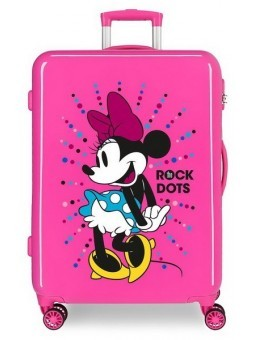 Maleta mediana Disney Minnie Sunny Day The Rock Dots