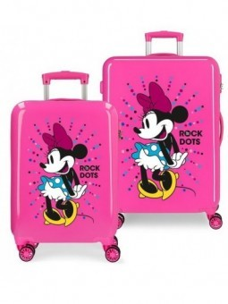 Juego de maletas Disney Minnie Sunny Day The Rock Dots