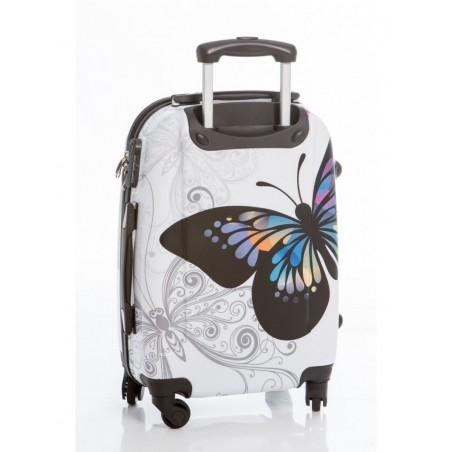 Juego de 3 maletas Mariposas