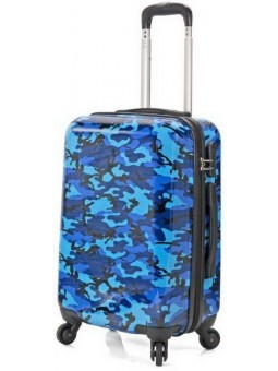 Maleta Azul Camuflaje + Neceser