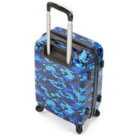Maleta Azul camuflaje