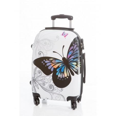 Maleta mediana Mariposas