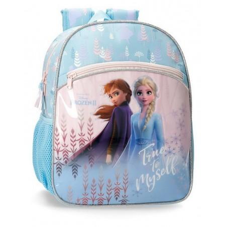 Mochila pequeña adaptable Disney True to Myself Frozen