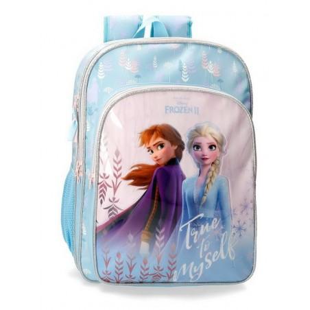 Mochila doble adaptable Disney True to Myself Frozen