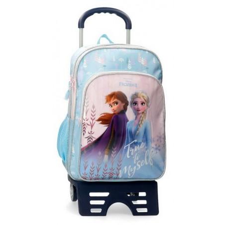 Mochila doble con carro Disney True to Myself Frozen