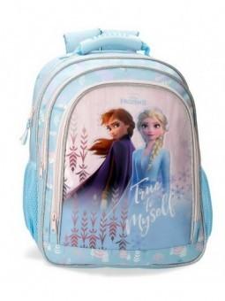 Mochila doble ancho Disney True to Myself Frozen