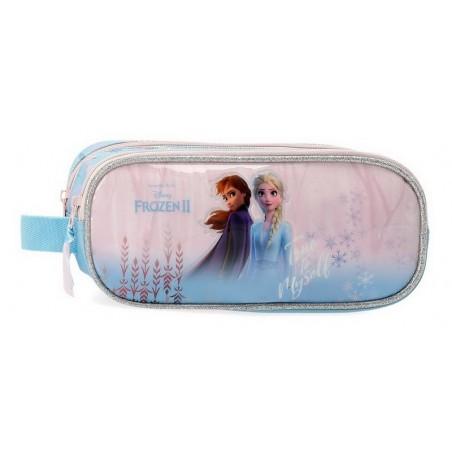 Estuche neceser doble Disney True to Myself Frozen