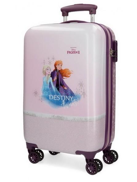 Maleta cabina Disney Spirits of Nature Frozen 2 rosa