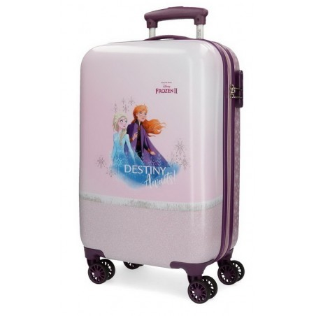 Maleta cabina Disney Spirits of Nature Frozen 2 rosa