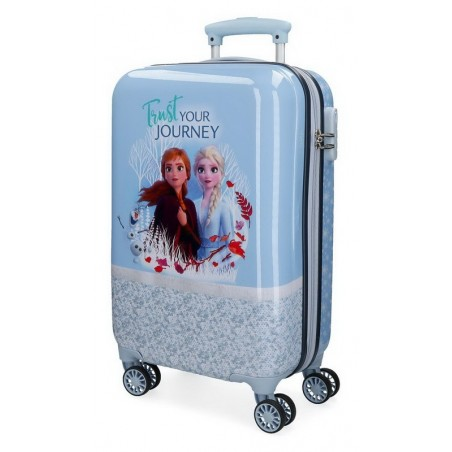 Maleta cabina Disney Spirits of Nature Frozen 2 azul