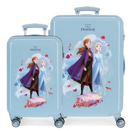 Juego de maletas Frozen My destiny's calling