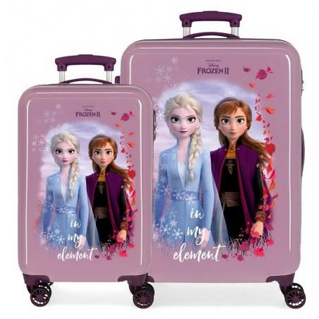 Juego de maletas Frozen In my element