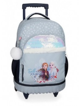 Mochila con ruedas Frozen Trust your journey