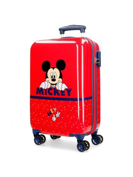 Maleta cabina dura Disney Happy Mickey