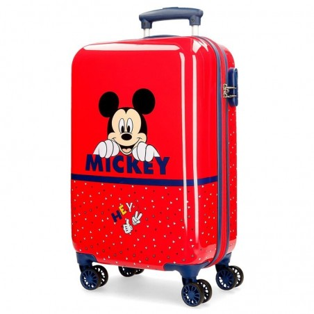 Maleta cabina dura Disney Happy Mickey