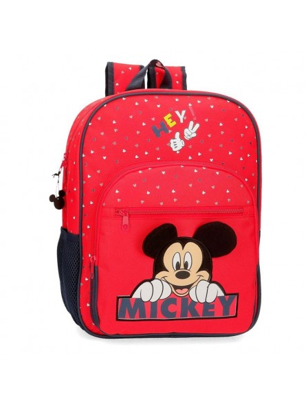 Mochila grande adaptable Disney Happy Mickey
