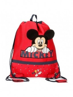 Mochila saco Disney Happy Mickey