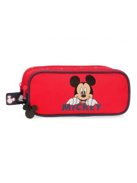 Estuche neceser doble Disney Happy Mickey
