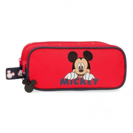 Estuche neceser doble Disney Happy Mickey