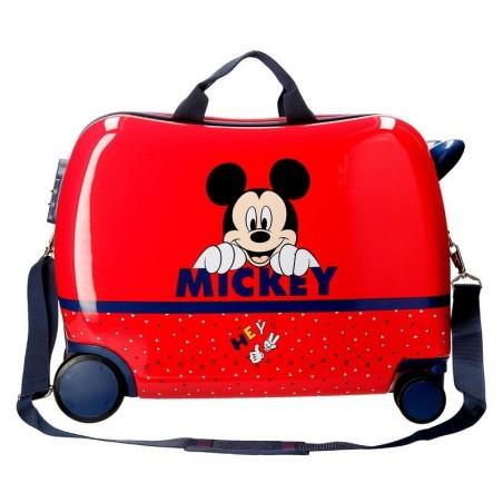Maleta correpasillos Disney Happy Mickey