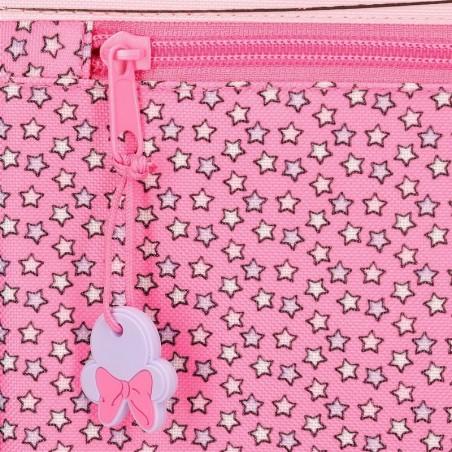 Mochila pequeña adaptable Minnie Pink Vibes