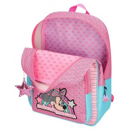 Mochila grande con carro Minnie Pink Vibes