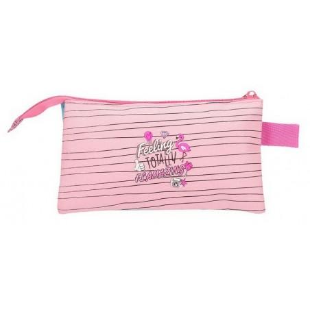 Estuche neceser triple Minnie Pink Vibes