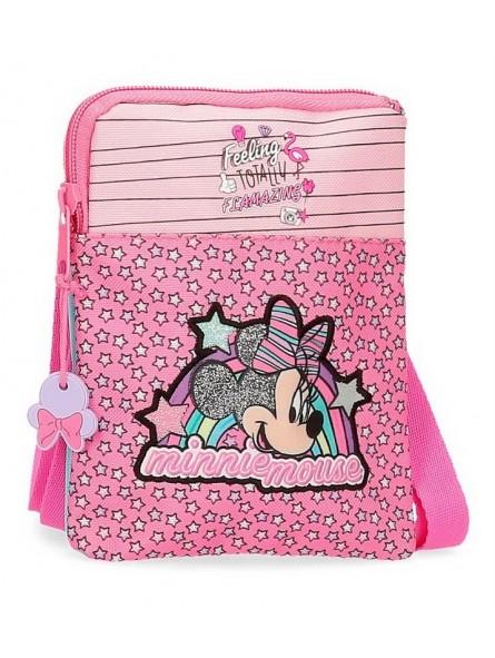 Bolso plano Minnie Pink Vibes